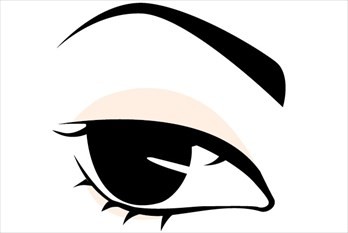 眉の形と印象